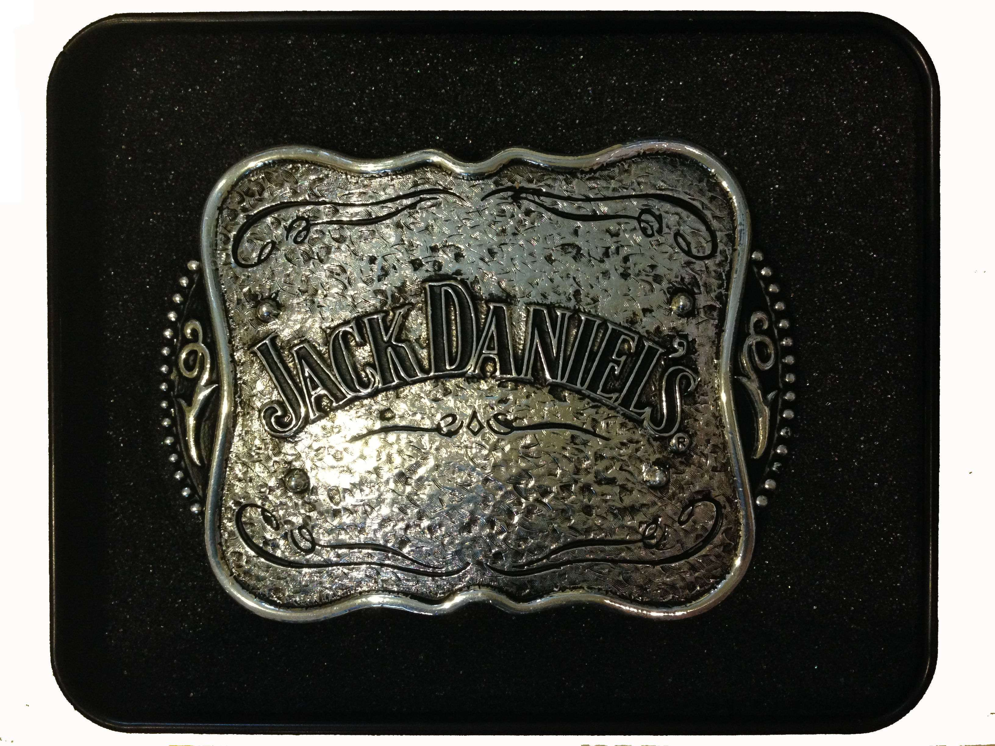 Jack Daniels Buckle With Tin
