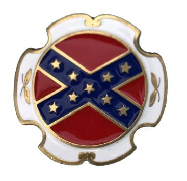 Rebel Flag Gold Plated Bolo Tie Complete with Cord