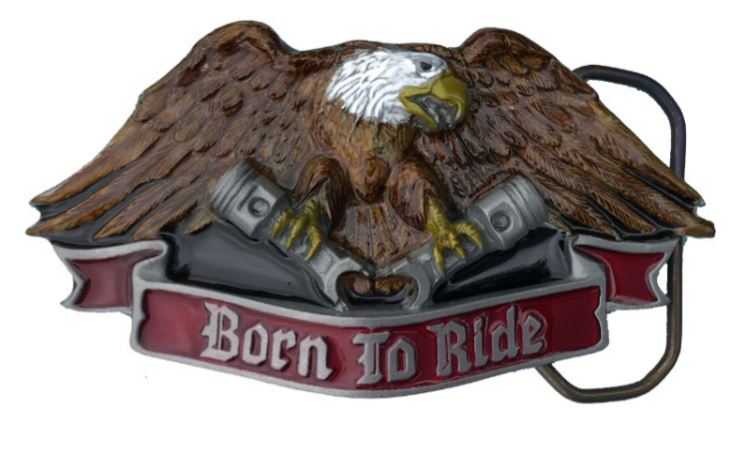 Born to Ride Belt Buckle