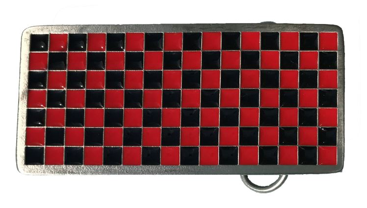 chequer board Red & Black