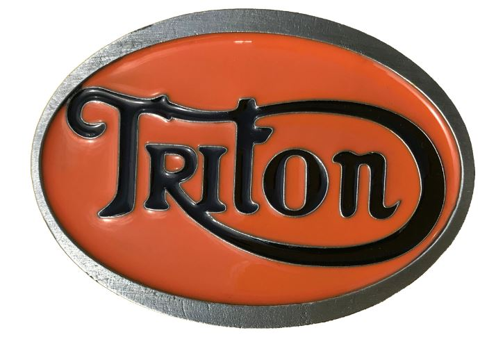 Triton Belt Buckle Orange & Black