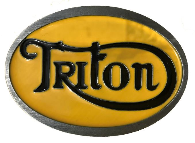 Triton Belt Buckle Yellow & Black