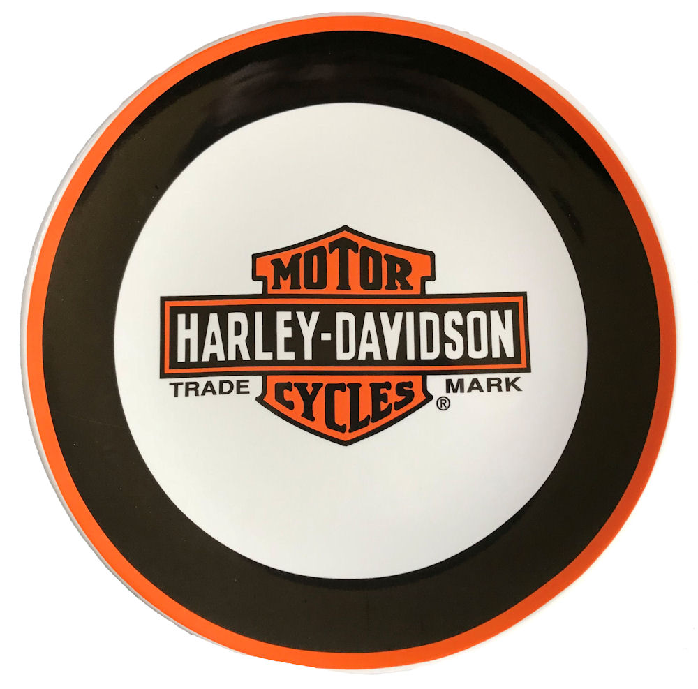 Harley Davidson Ceramic Collectors plate