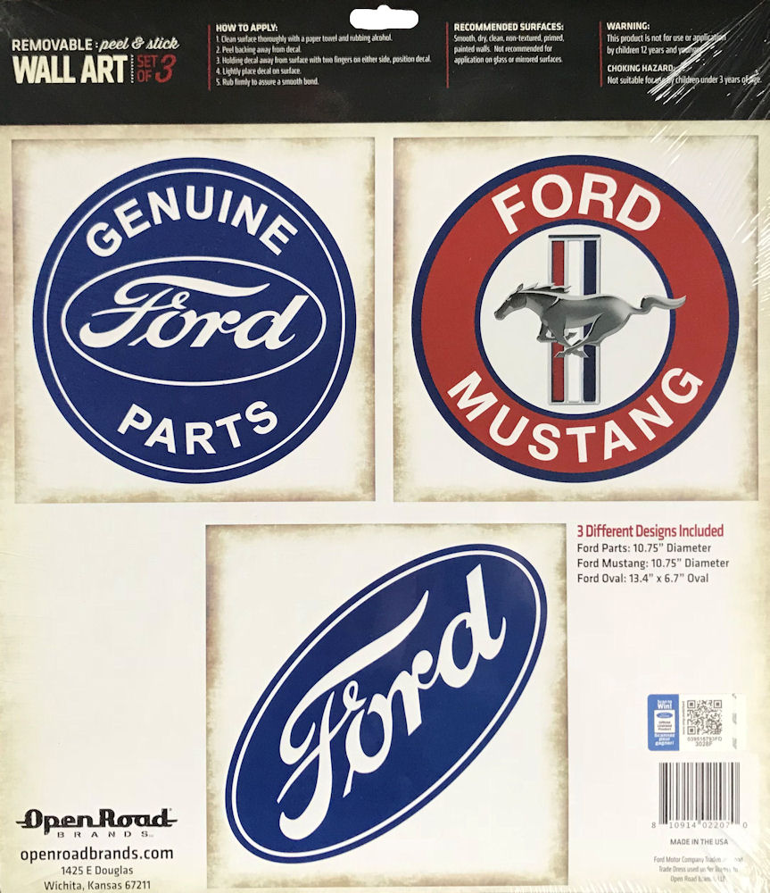 Ford Automotive Decals