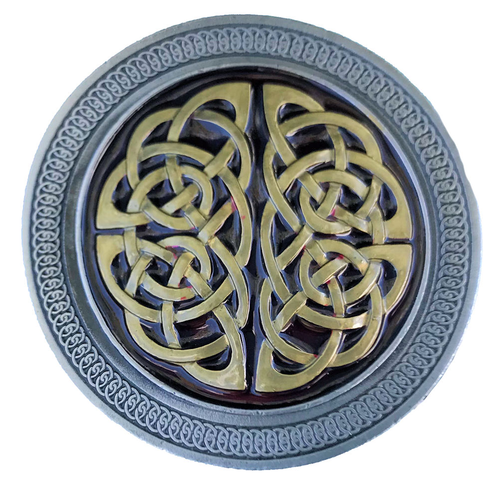 Celtic Knot Red & Gold Range