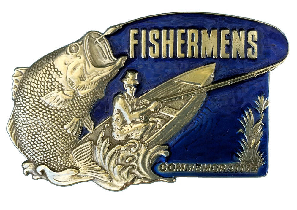 Commemorative Fisherman- Blue