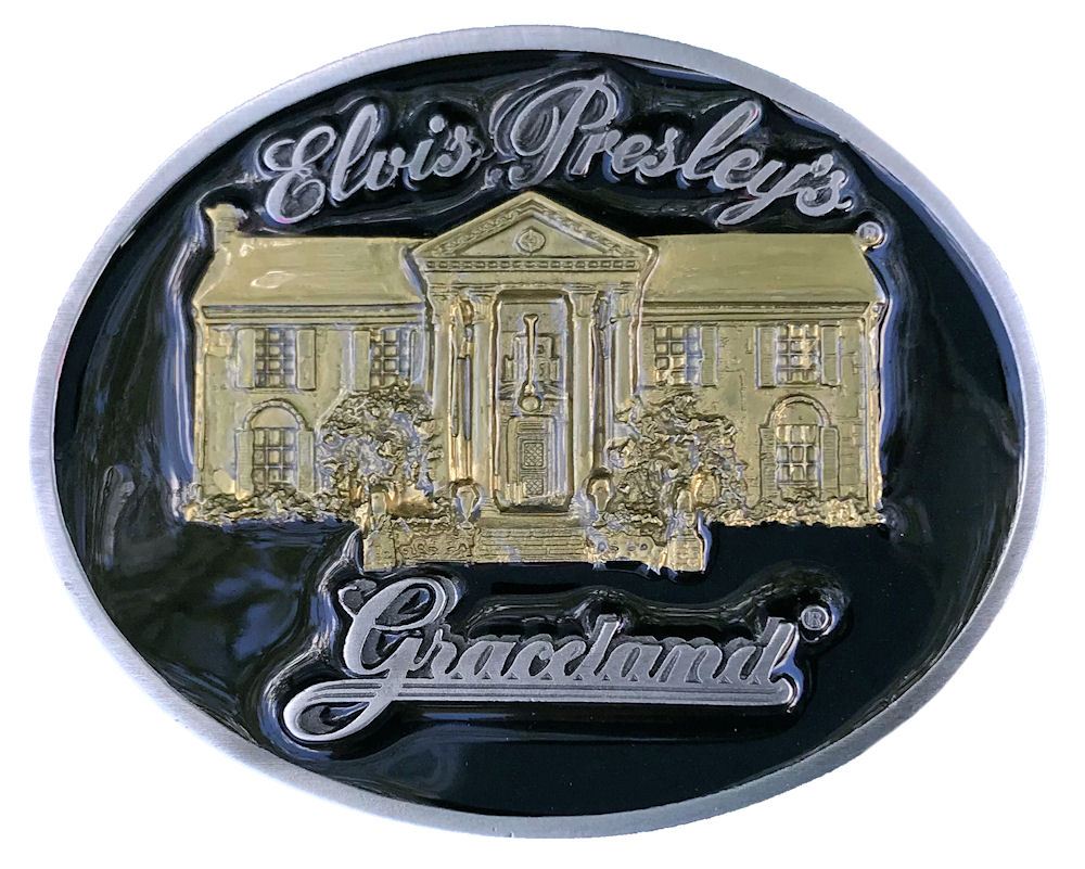 Elvis - Gracelands House Black & Gold Range