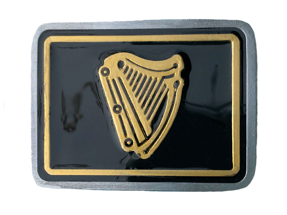 Irish Harp Black & Gold Range