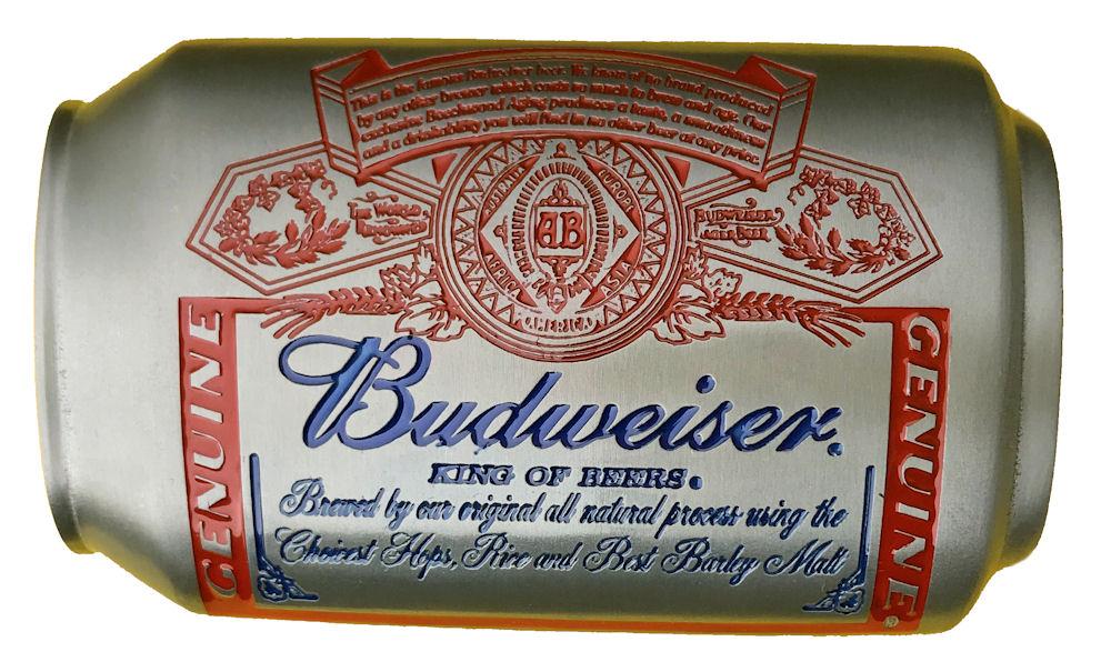 Budweiser Can Belt Buckle