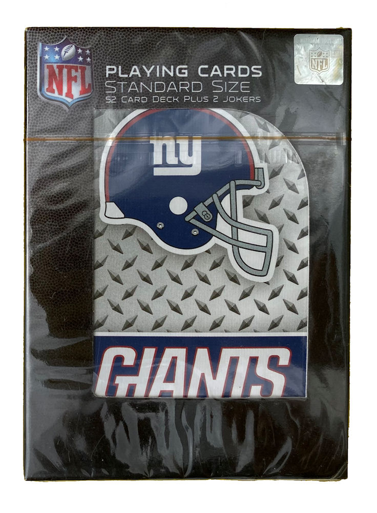 New York Giants NFL Playing Cards