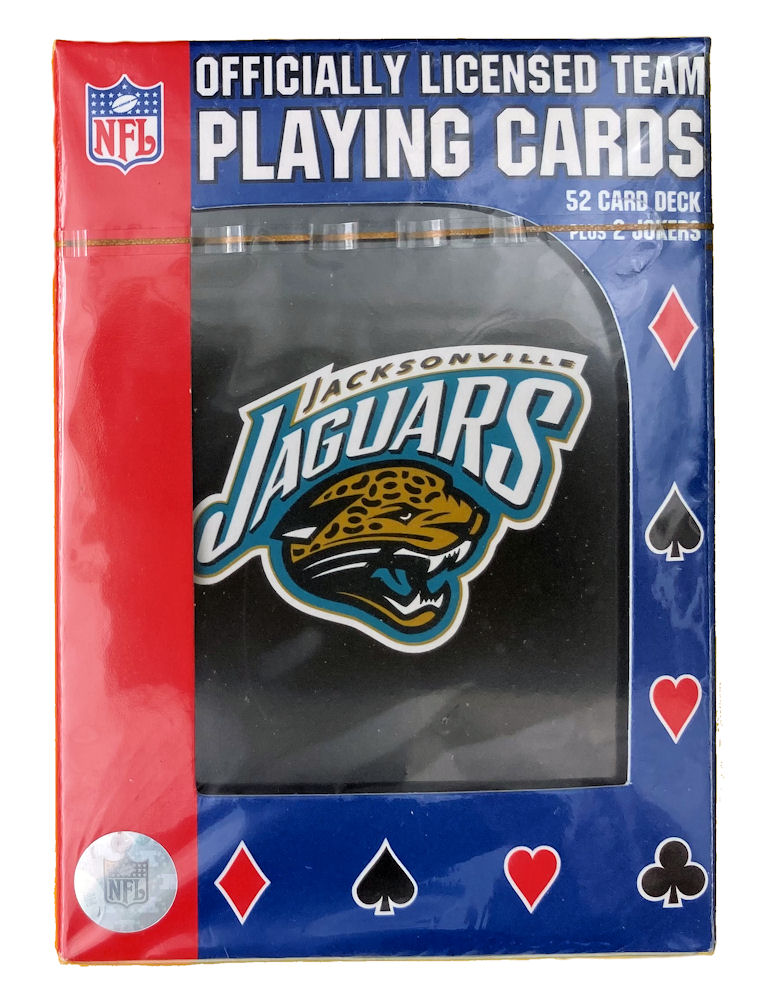 Jacksonville Jaguars NFL Playing Cards