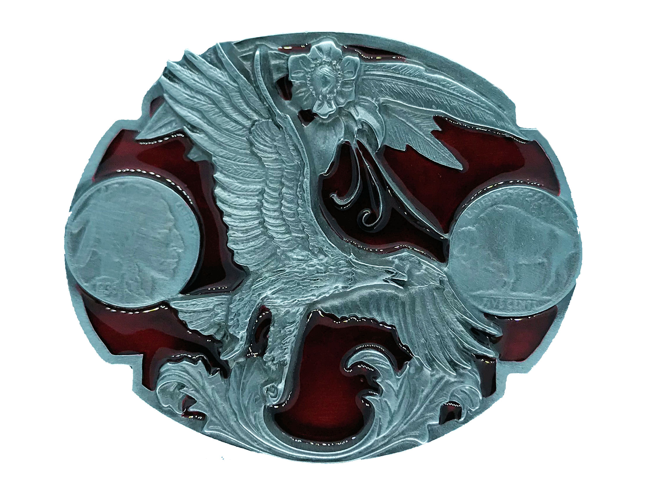 Liberty - Eagle Belt Buckle