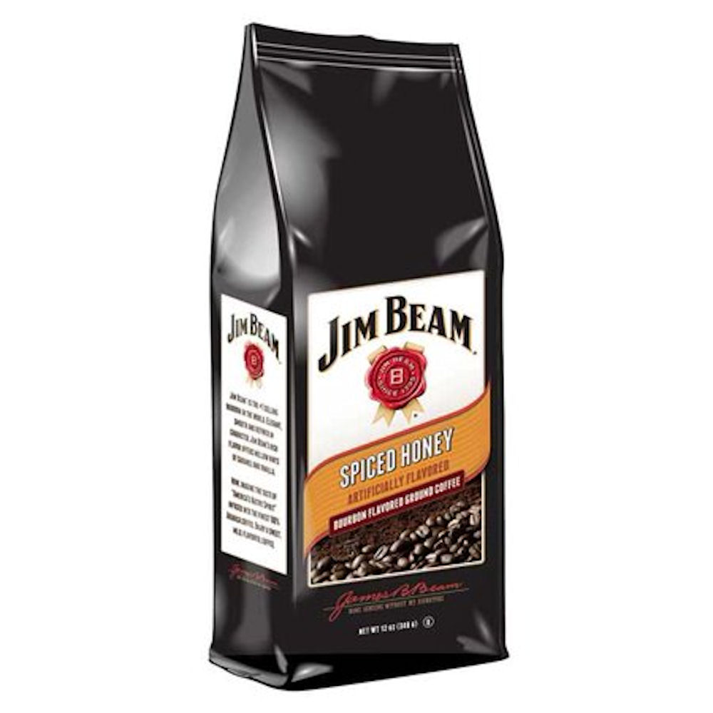 Jim Beam Spiced Honey Ground Coffee