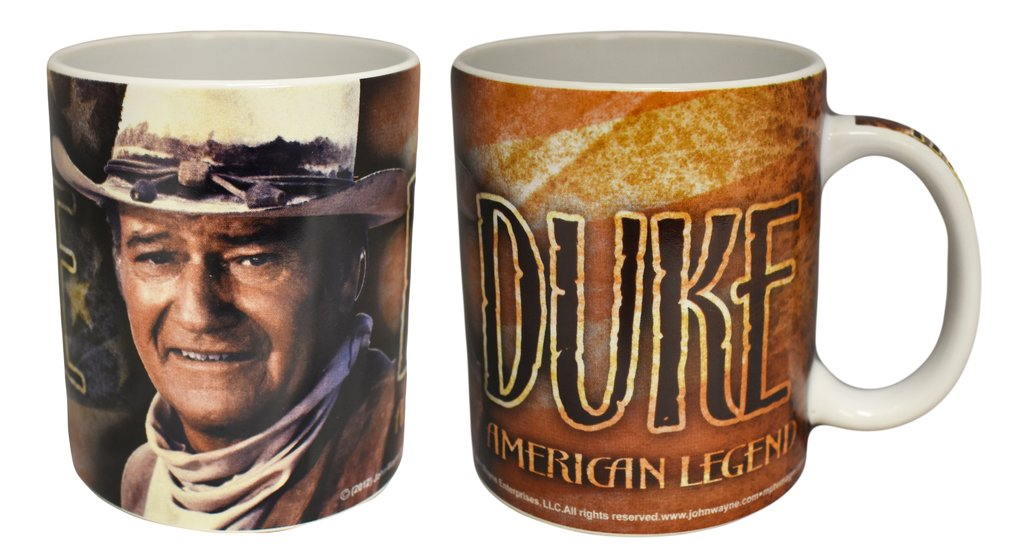 John Wayne American Legend Coffee Cup