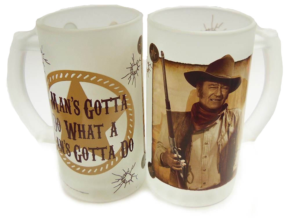 John Wayne Steins Set of 2