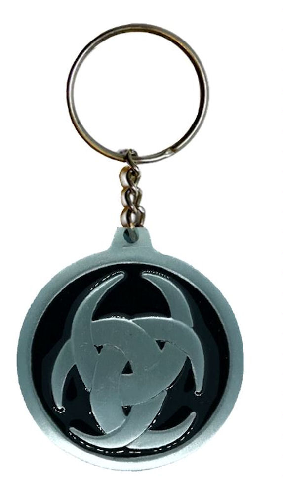 Celtic Design Keychain Black