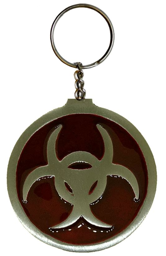 Celtic Design Keychain Red
