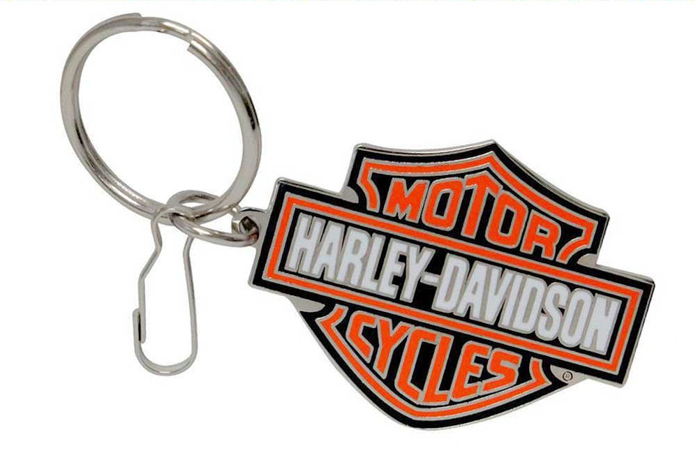 Harley Davidson Logo Metal Key Ring