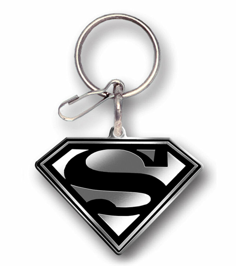 Superman Enamel Key Chain