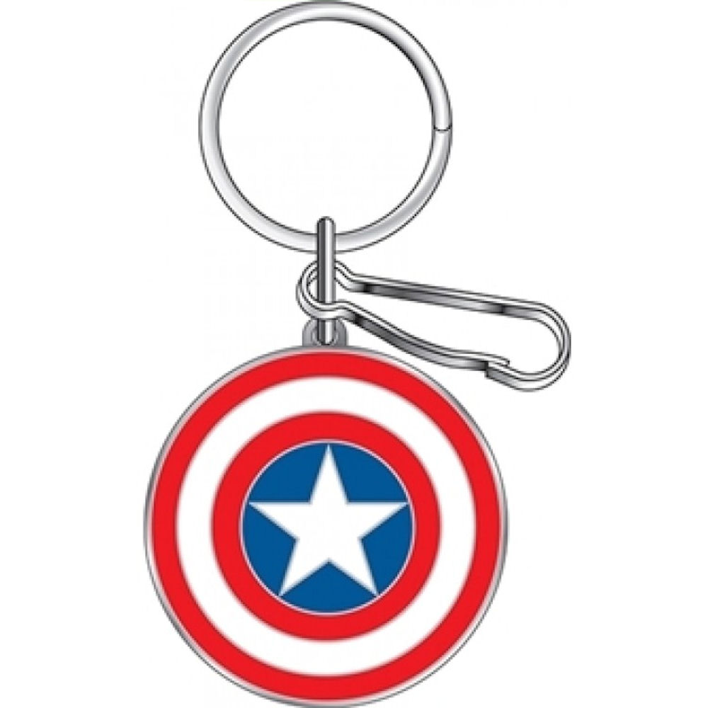 Captain America Metal Key Chain