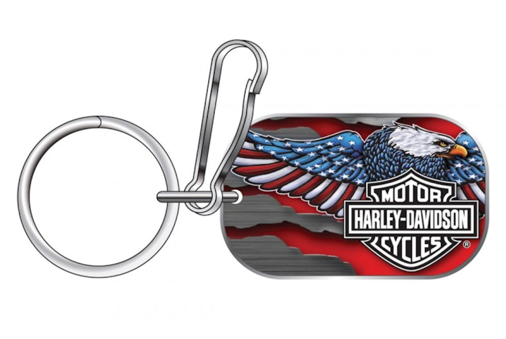 HARLEY-DAVIDSON Eagle Tag Key Chain