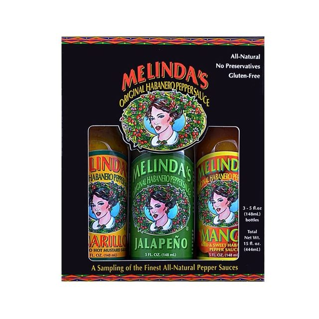 Melindas Wild and Mild Collection Pepper Sauces