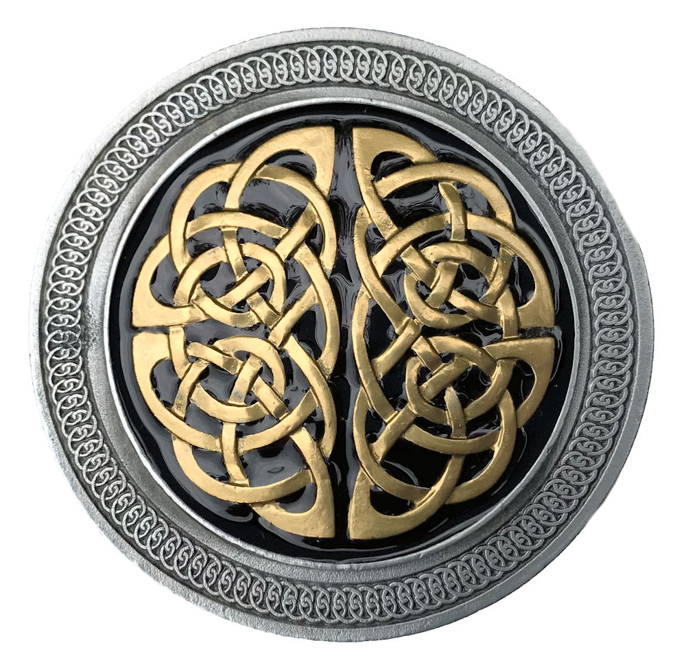 Celtic Knot Black & Gold