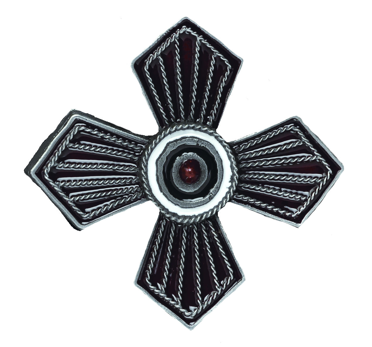 Cross Belt Buckle