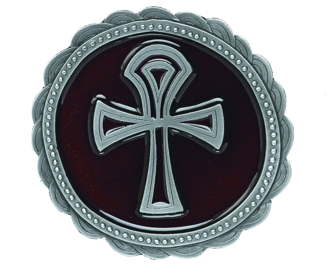 amon ankh cross red