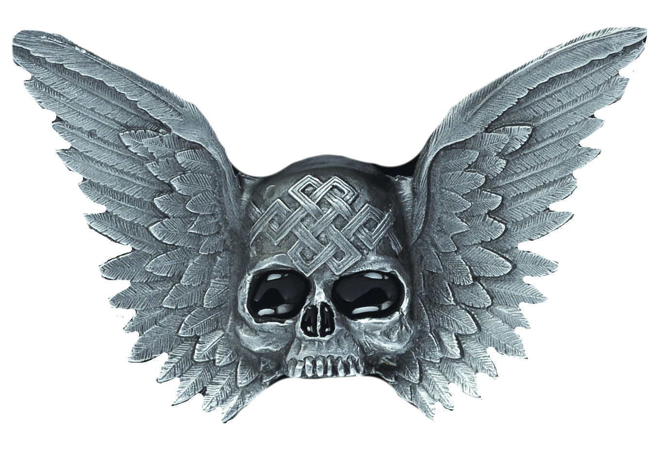 Skull & Wings Belt Buckle