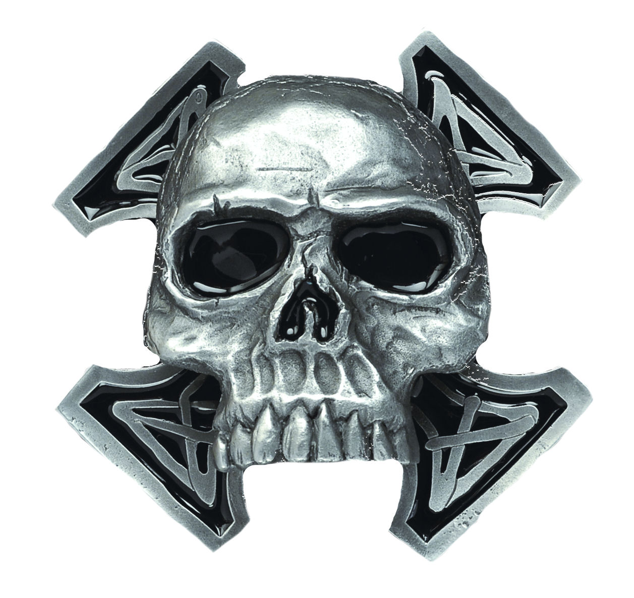 Death Skull Belt Buckle