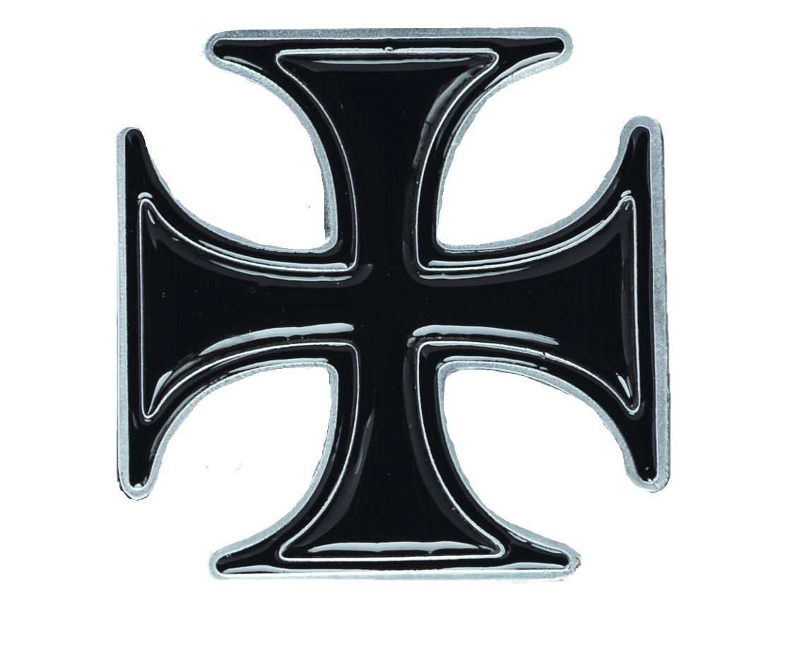 Maltese Cross Heavy Belt Buckle