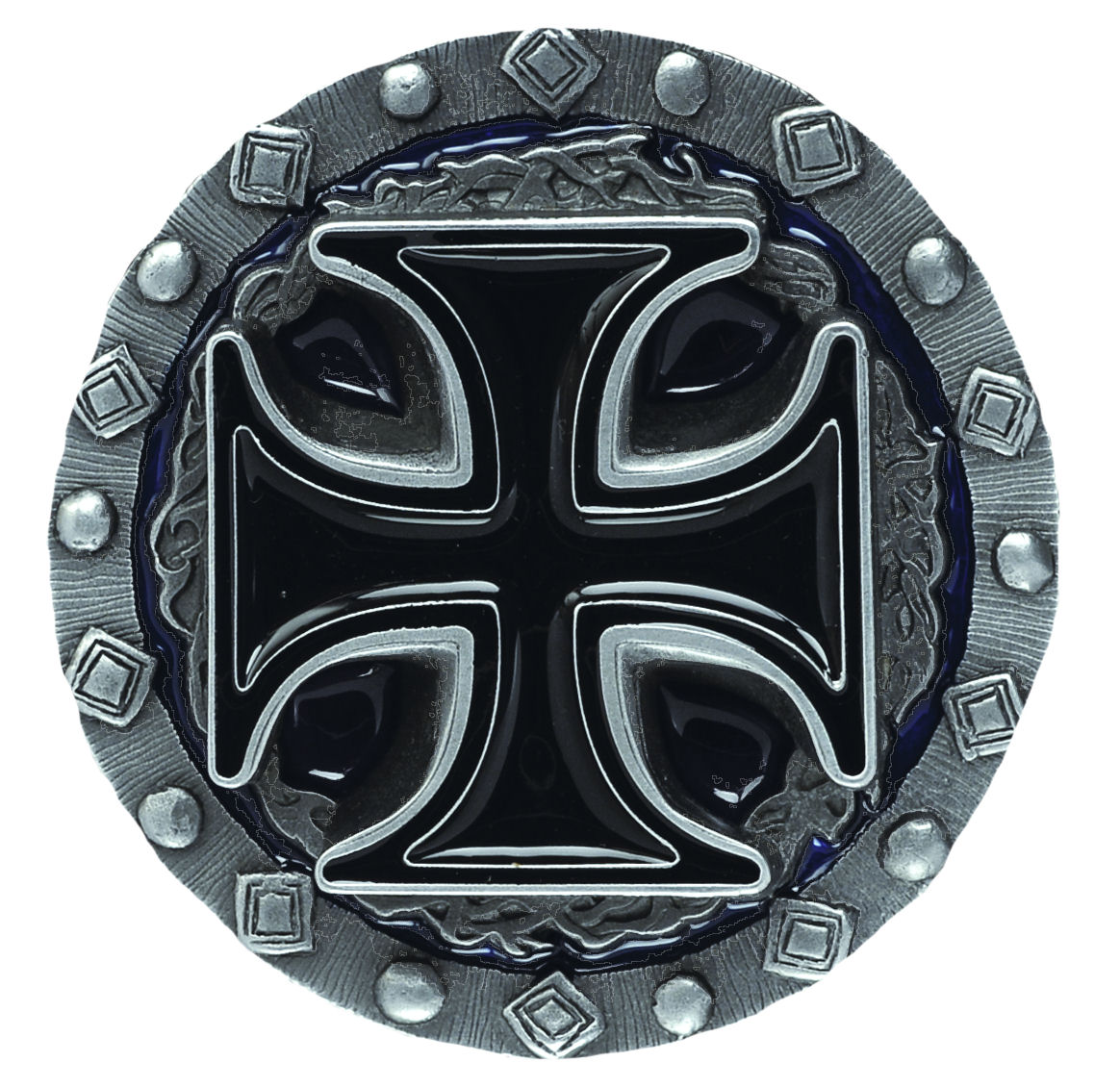 Cross & Thorns Belt Buckle