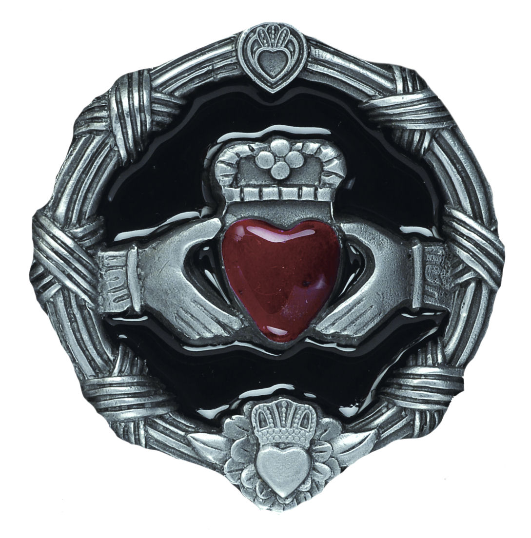 Claddagh Belt Buckle