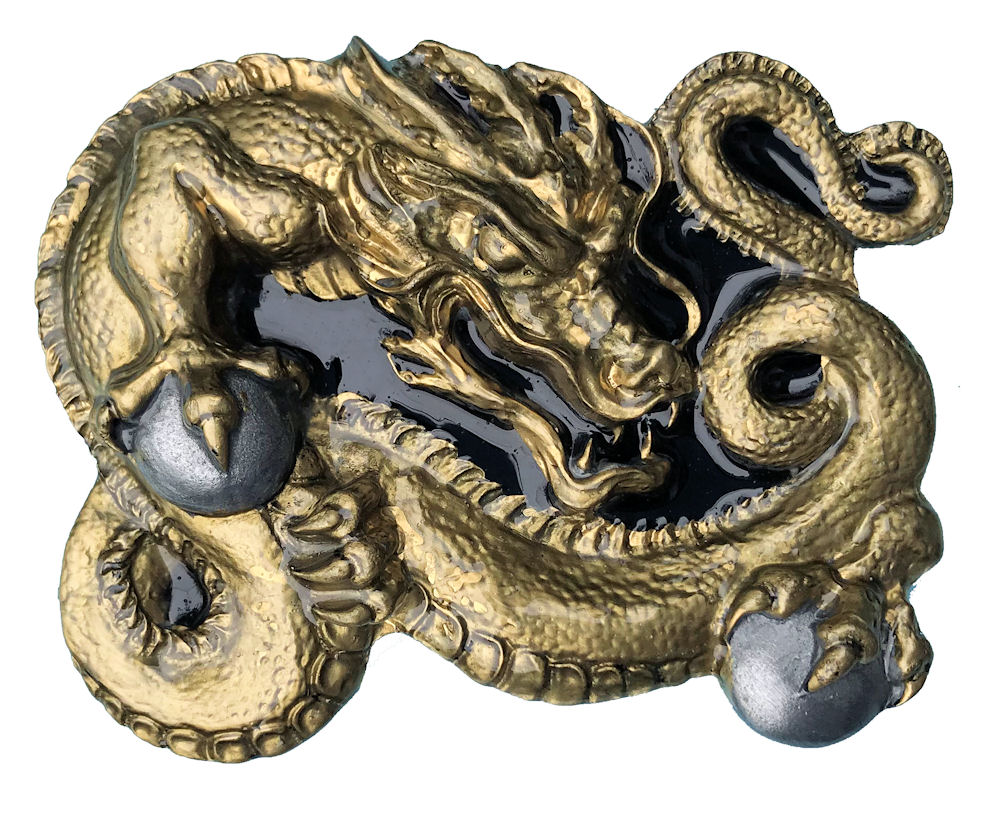 Chinese Dragon Black & Gold Range