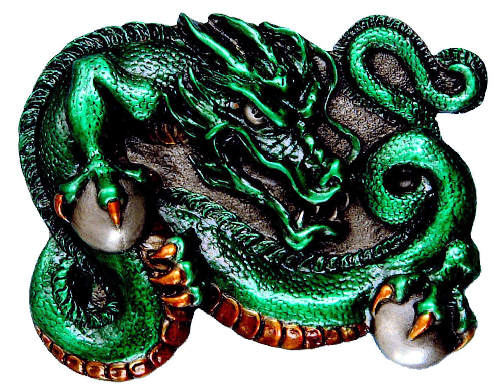 chinese dragon - green