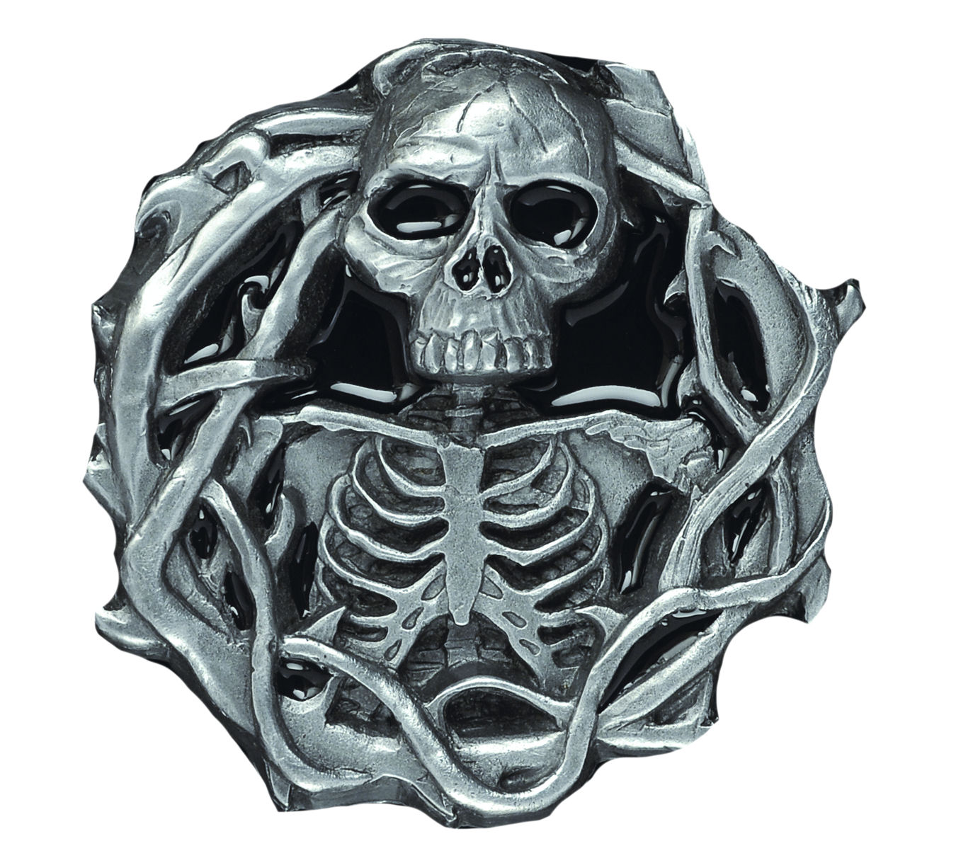 Skull and Bones Belt Buckle