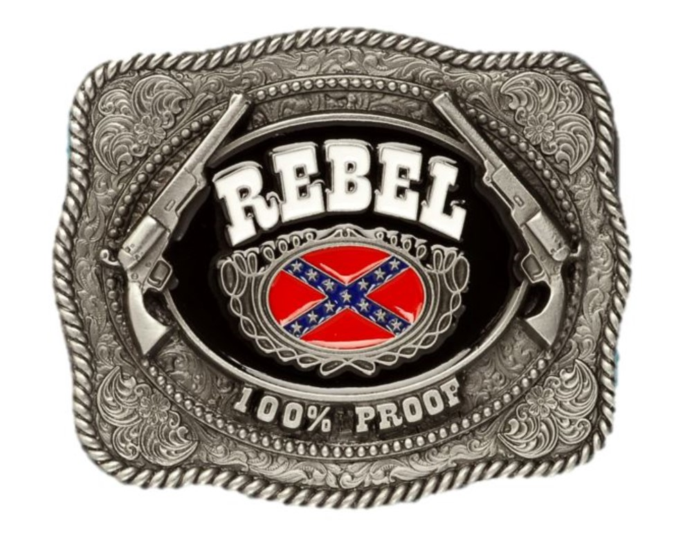 Rebel 100% Belt Buckle