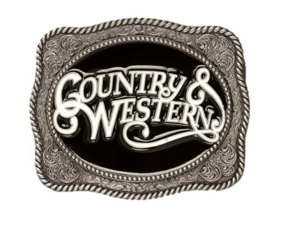 Country & Western Belt Buckle
