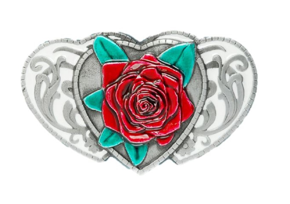 rose on hearts