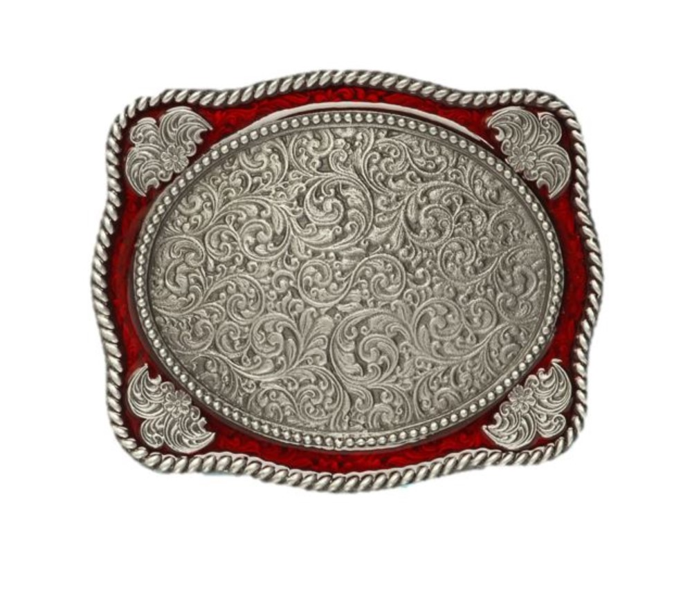 Filigree Design Belt Buckle