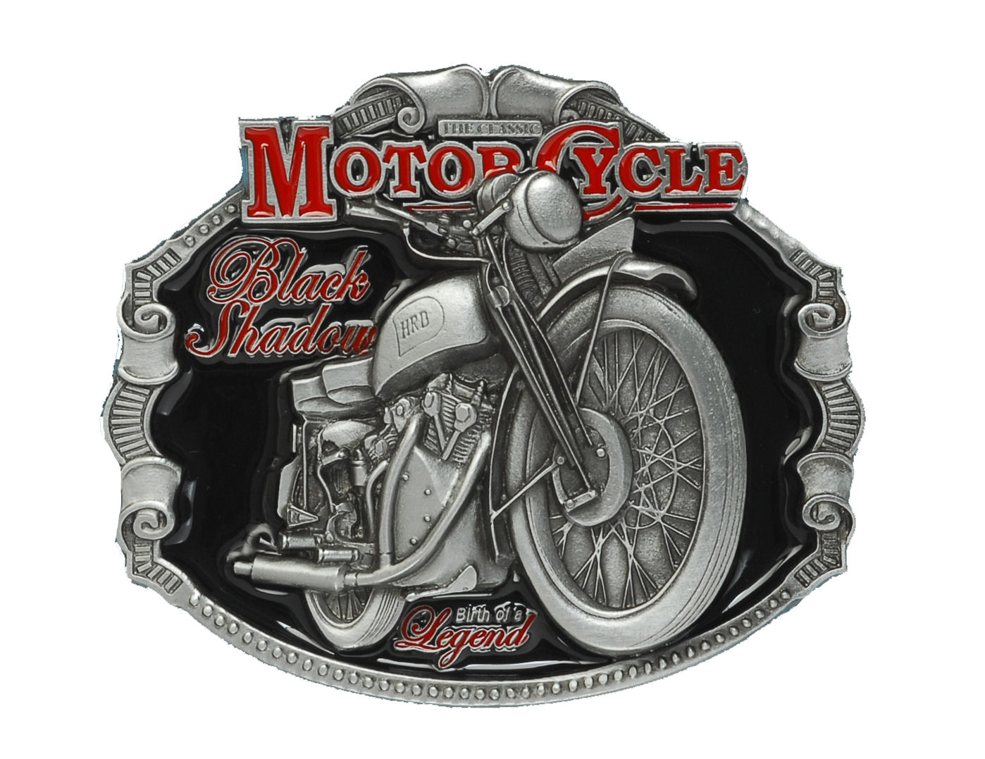 H.R.D. Vincent Motorcycle Belt Buckle