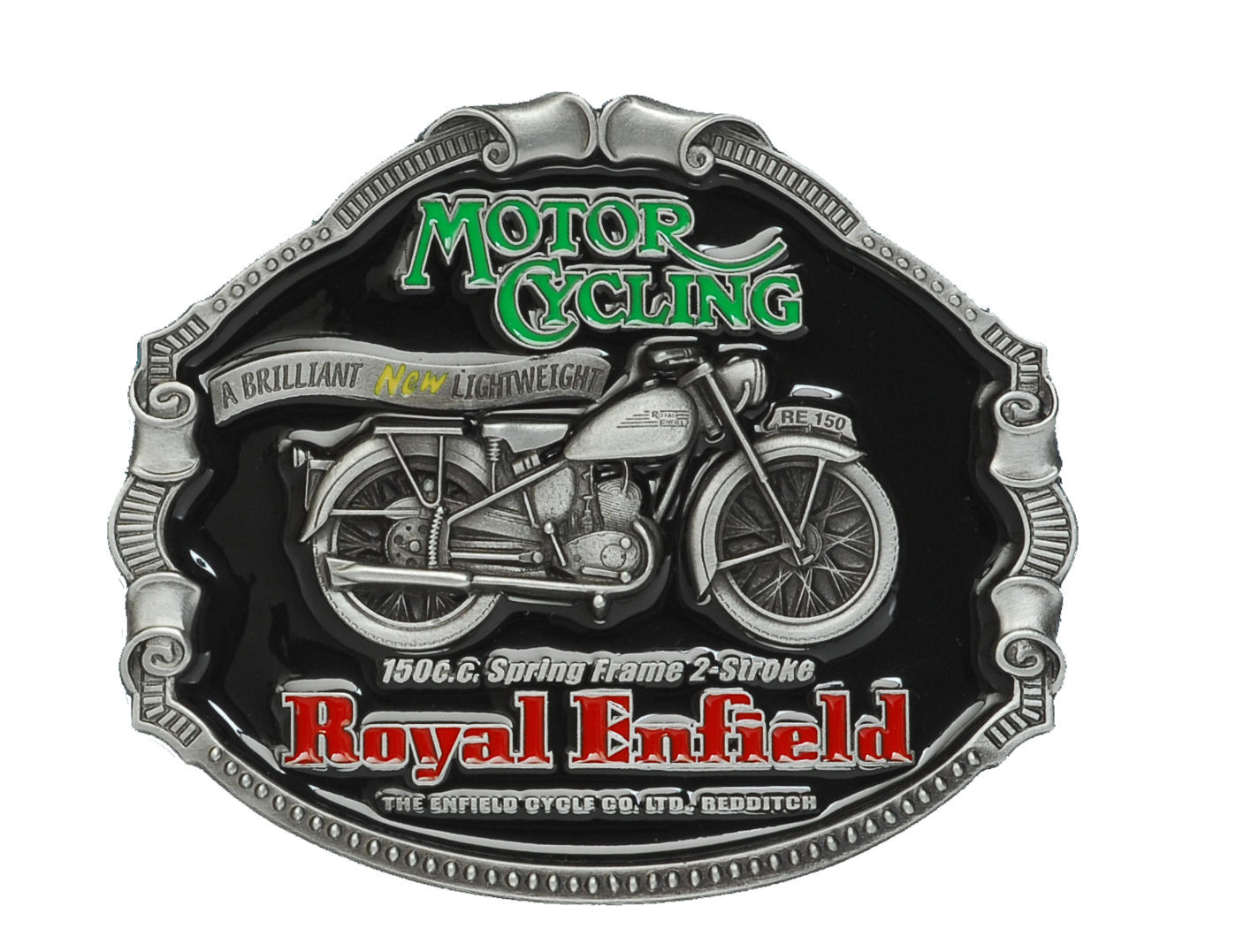 Royal Enfield Classic Motorcycles Belt Buckle