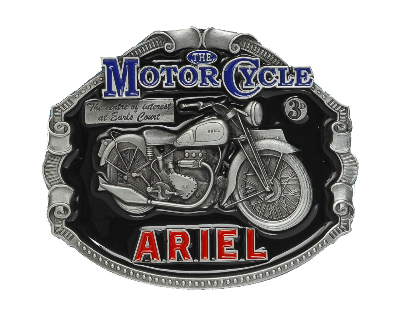 Ariel Motorcycle Belt Buckle
