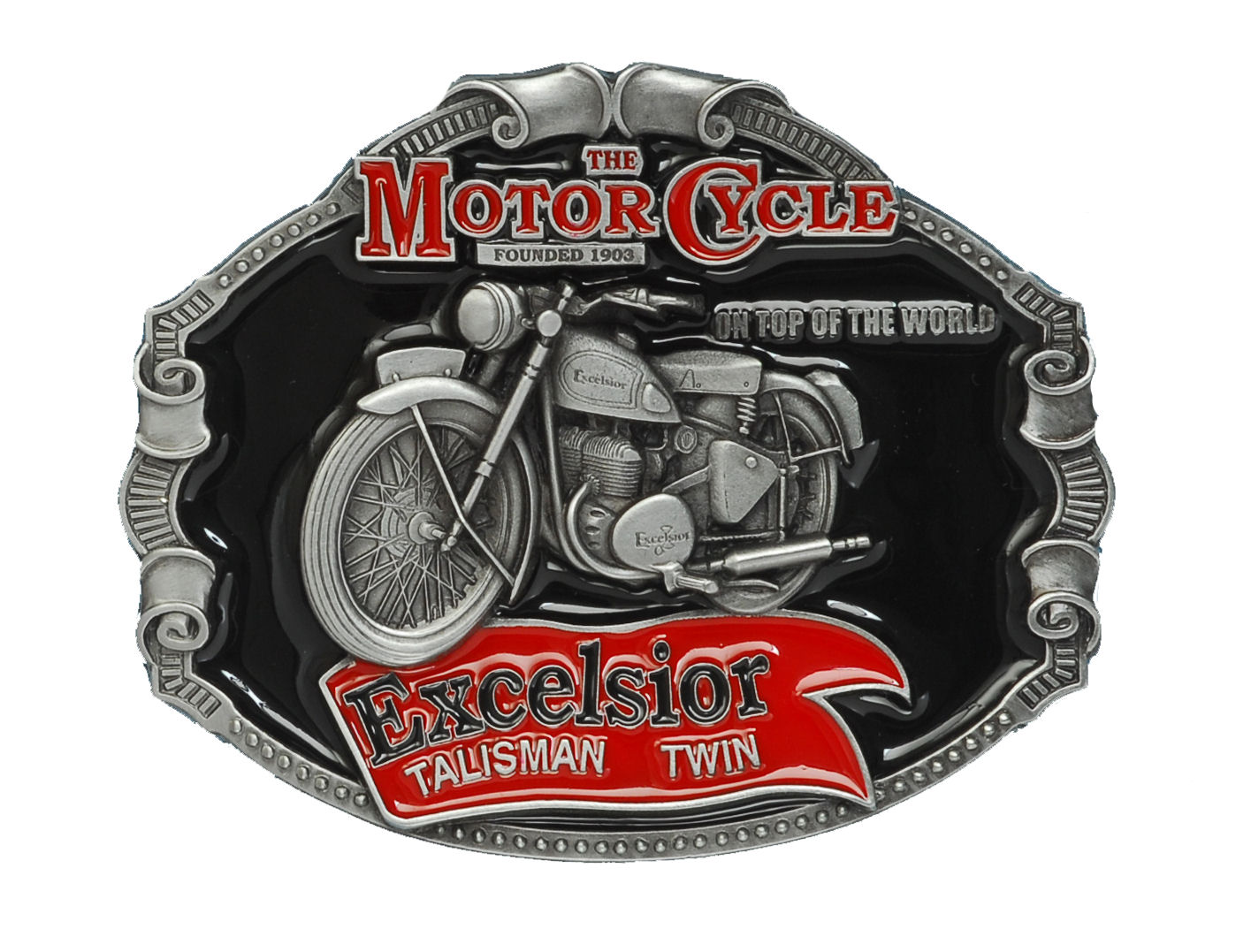 Excelsior Motorcyckle Belt Buckle