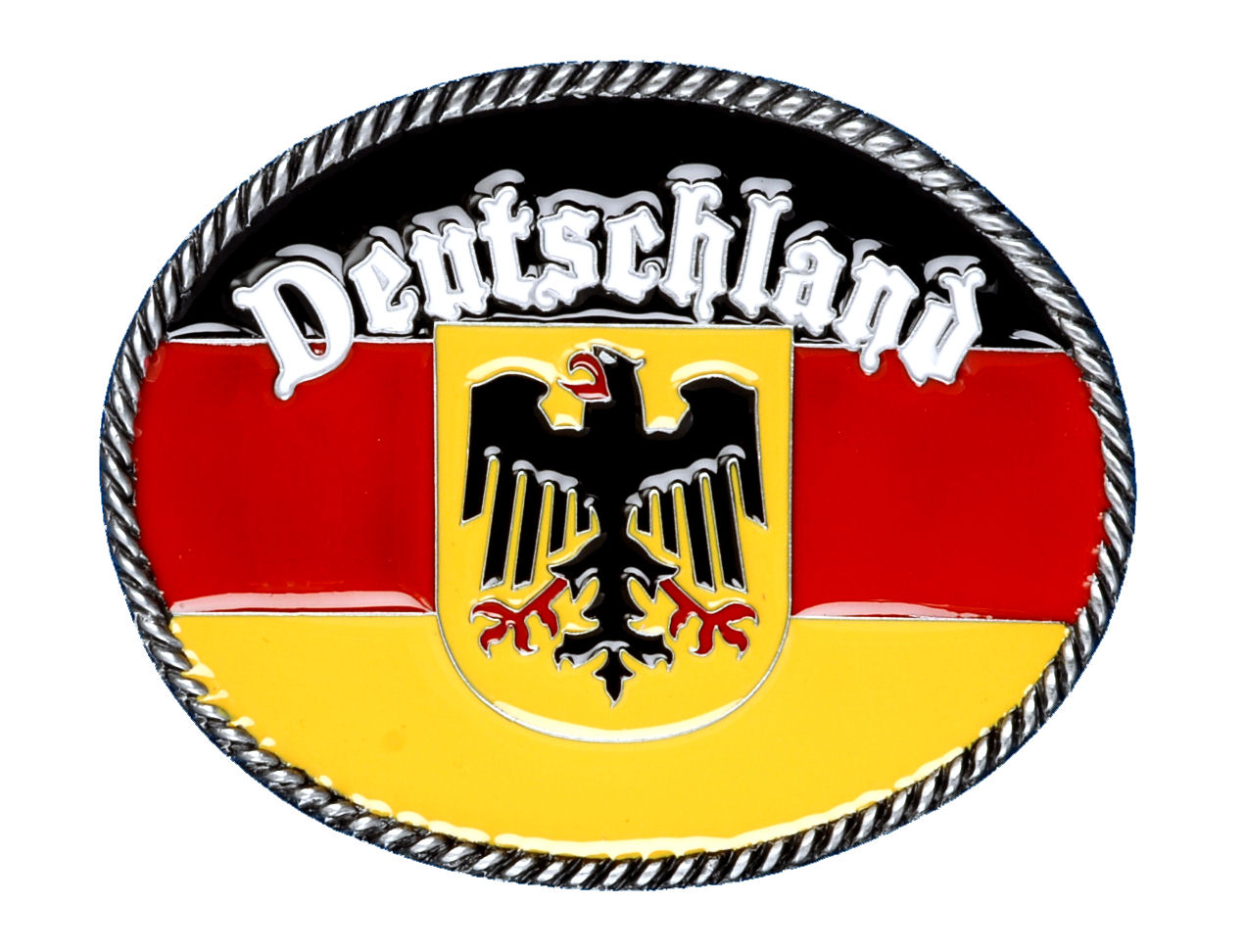 Deutschland Belt Buckle