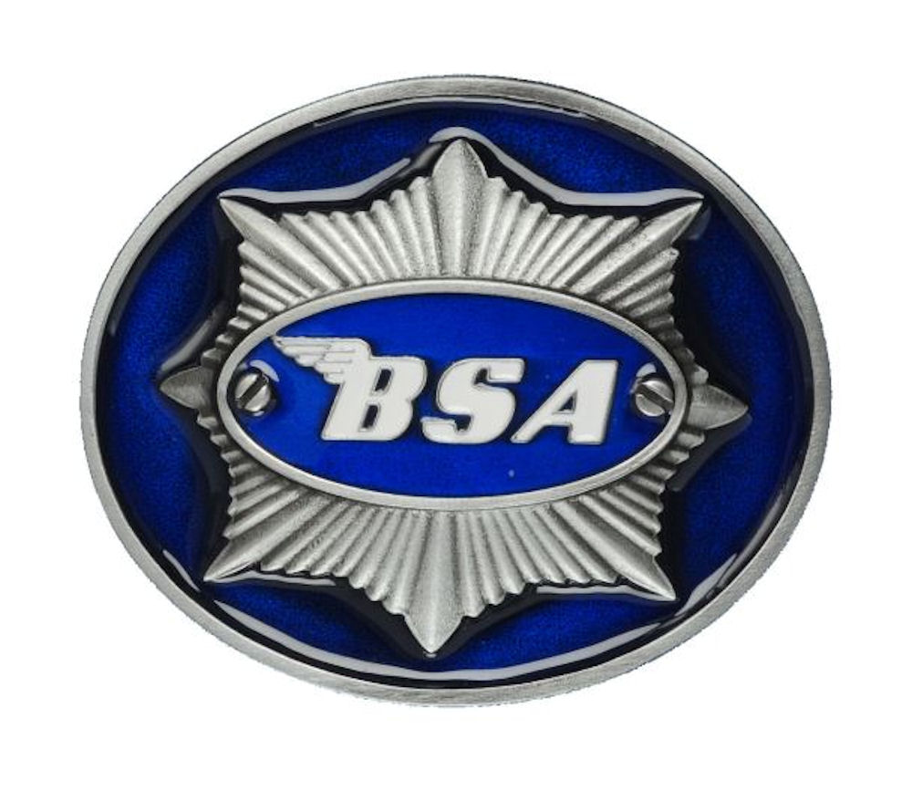 BSA Star (Blue) Belt Buckle