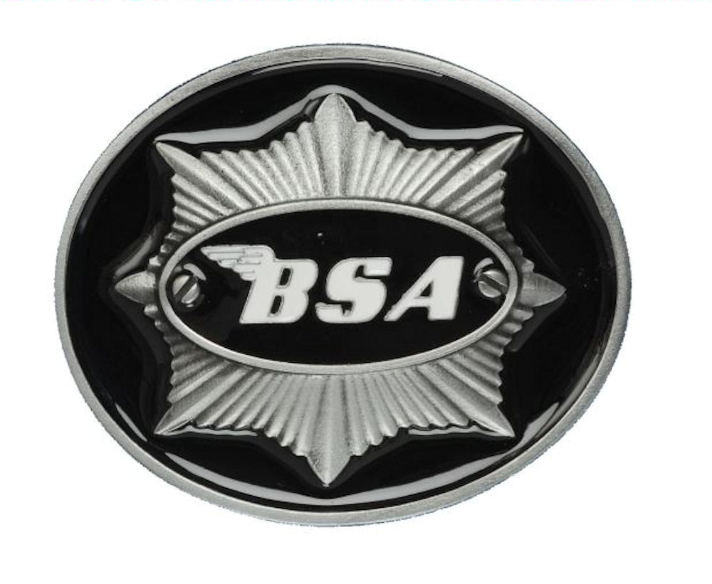 BSA Star (Black) Belt Buckle