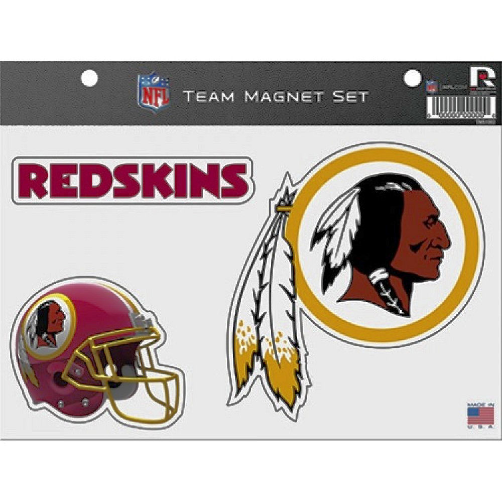 Washington Redskins Fridge Magnet Set