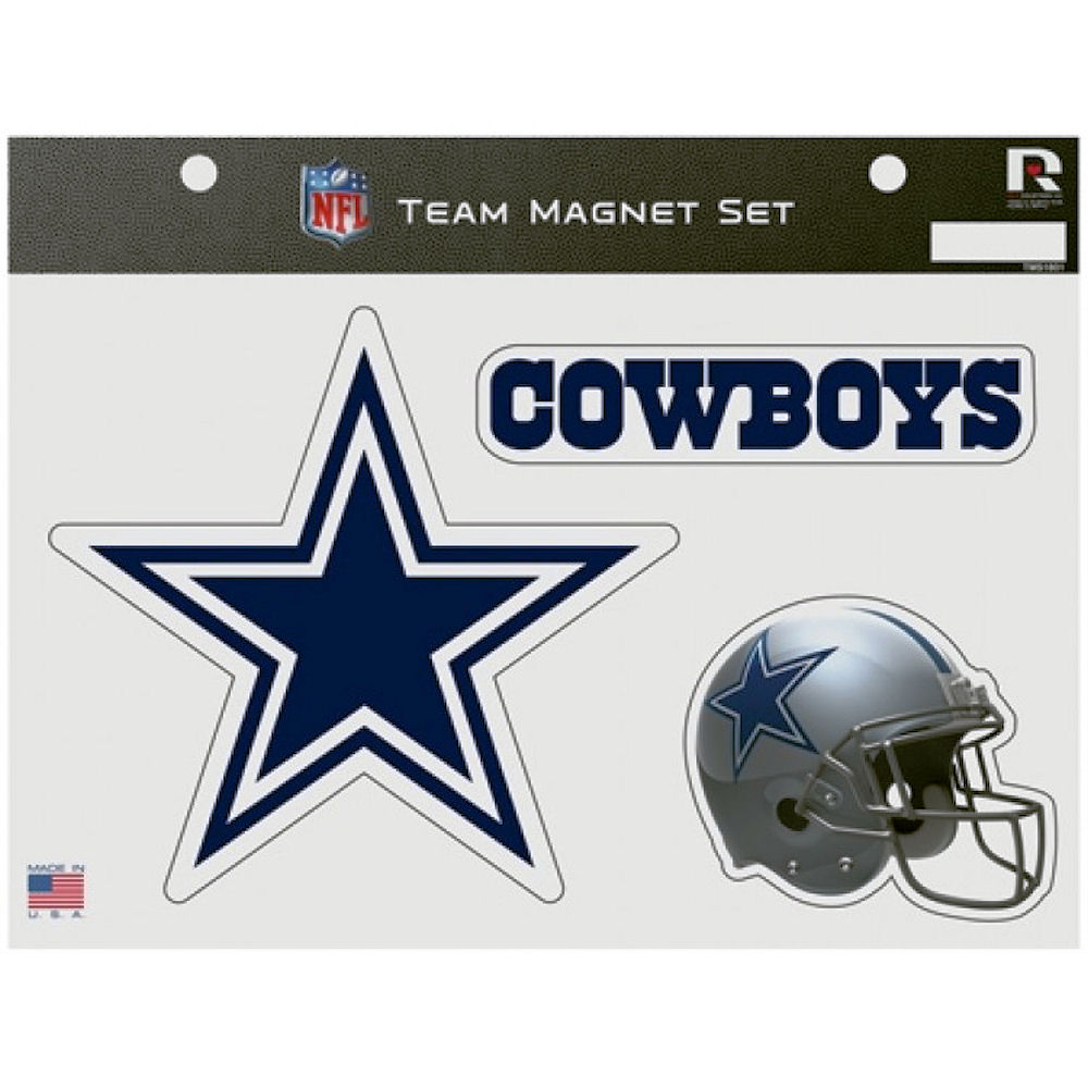 Dallas Cowboys Team Magnet Set